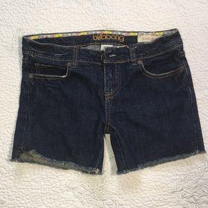 Billabong blue jean short juniors size 1